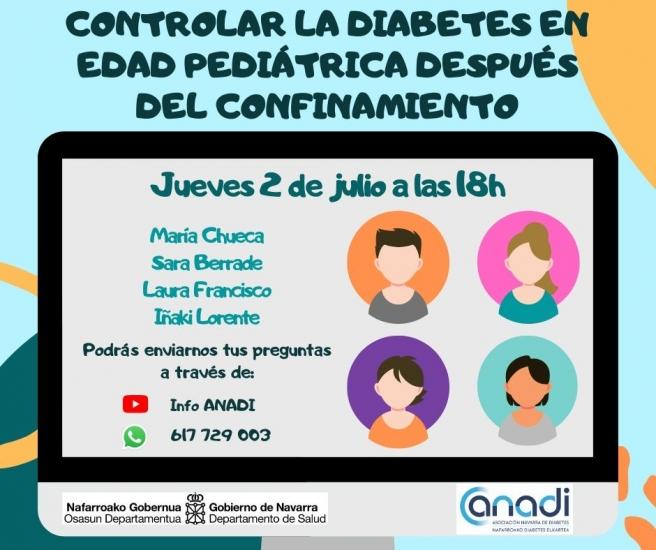 Controlar la diabetes en la edad pediátrica después del confinamiento