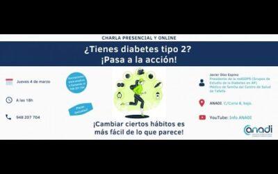¿Tienes diabetes tipo 2? ¡Pasa a la acción!