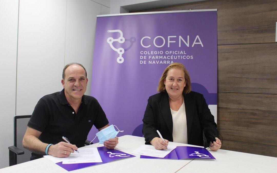 Acuerdo de colaboración con el Colegio de Farmacéuticos de Navarra (COFNA)