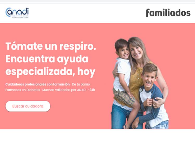 Servicio Familiados (cuidadores profesionales con formación especializada en diabetes)